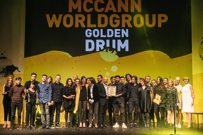 GREAT SUCCESS OF MCCANN AGENCIES AT THE GOLDEN DRUM FESTIVAL